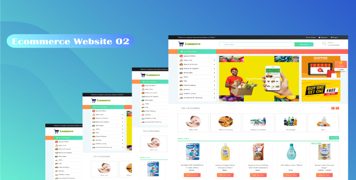 Ecommerce Website Two